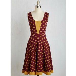 ModCloth Effie's Heart Sailboat Dress